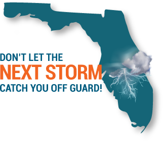 Storms over Florida